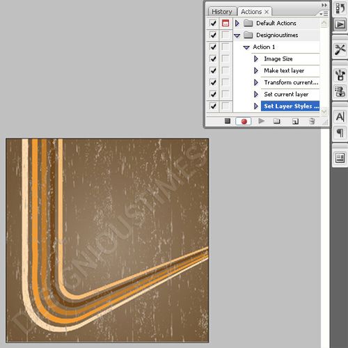 311 How to create a droplet in Photoshop
