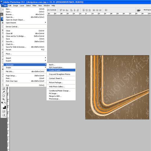 61 How to create a droplet in Photoshop
