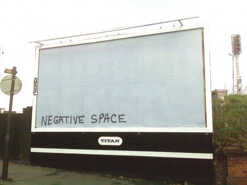 nagative 500x375  Billboard Sabotage