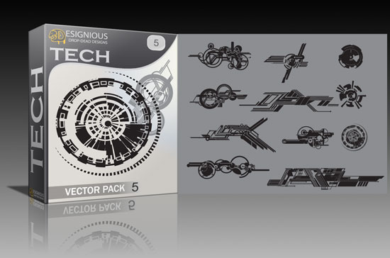 tech5 Animal print, tribal and tech vector packs + t shirts