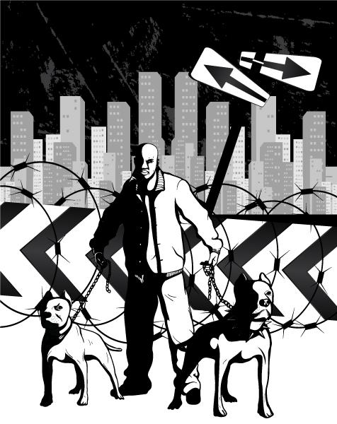 urban illustration Urban illustration