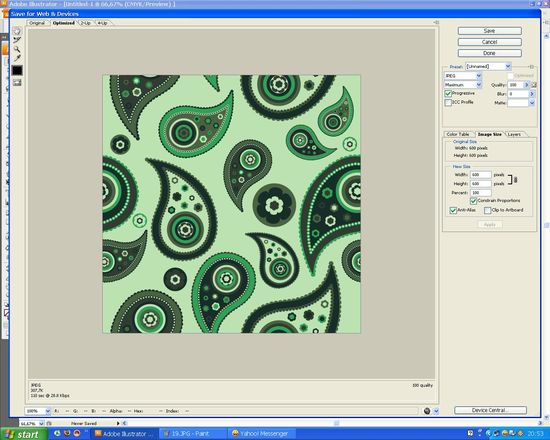 20 How to create a paisley seamless vector pattern