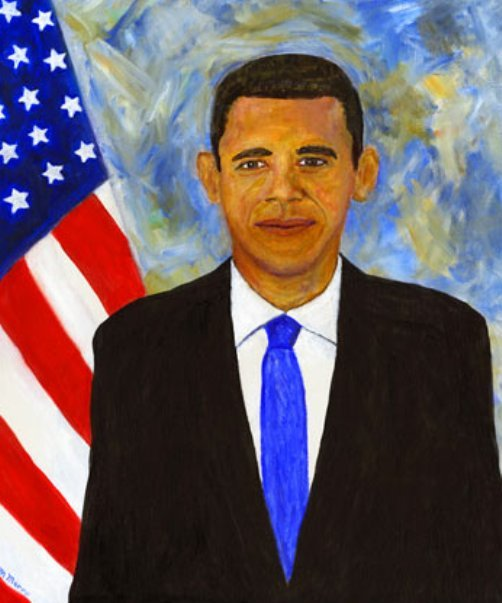 badobamapaintingsartfunnyoilpaint1 Bad Obama Art