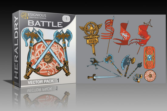 battle1 Cool new vector packs