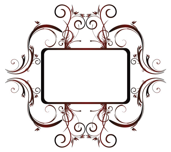 floralframe Floral frame