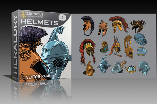 helmets Cool new vector packs