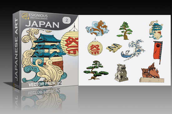 japan2 Cool new vector packs