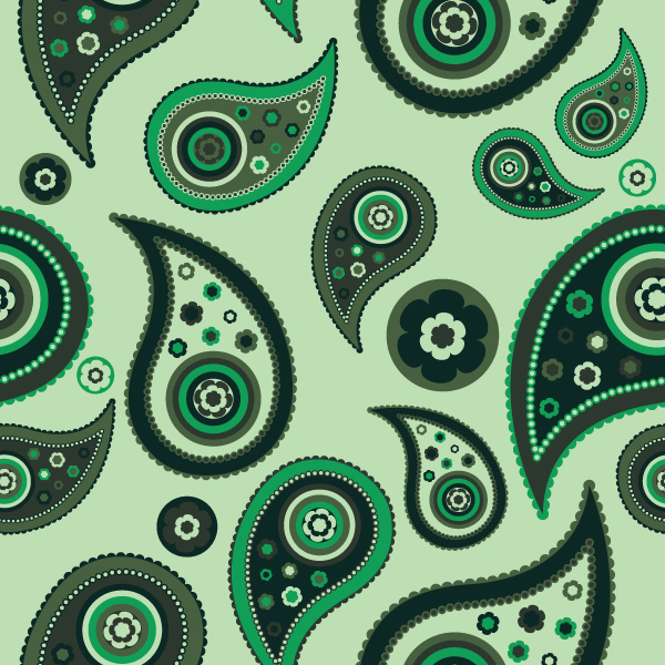 paisley How to create a paisley seamless vector pattern