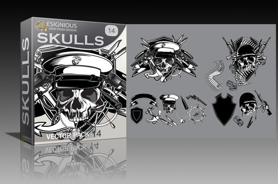 skulls14 Cool new vector packs