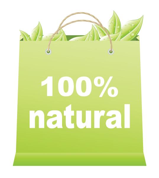 100natural Eco shopping bag