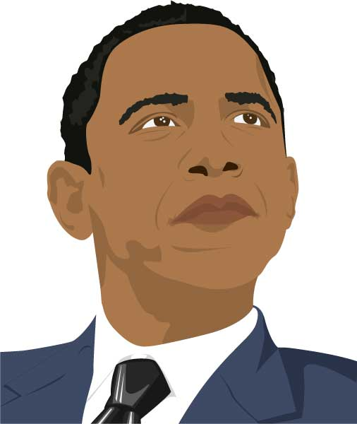 obama Obama vector portrait