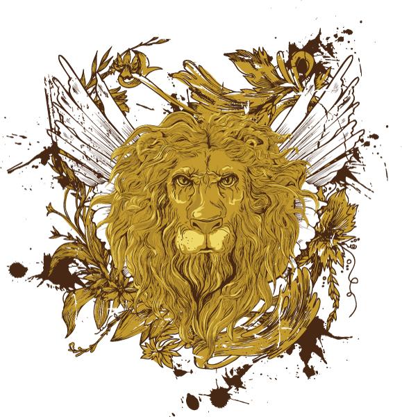 اسود بابل يجتازون اختبارات الاحزمة Golden-lion